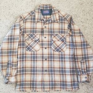 Vintage Pendleton Button Down Wool Shirt